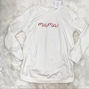 Isabel Maternity by Ingrid & Isabel Tops - NWT Isabel Maternity white sweater size L